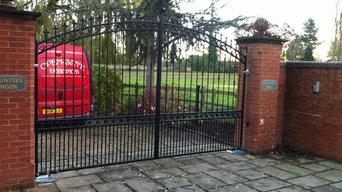 Ornate automated gates