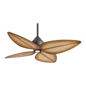 Minka-Aire Gauguin 1-Light Oil Rubbed Bronze Outdoor Fan