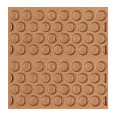 Adobe Textured Subway Tiles, Natural, Set of 11