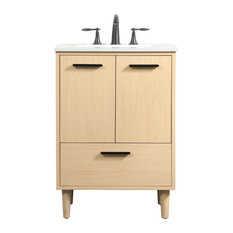 "Bailey 24"" Bathroom Vanity, Maple"