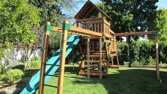 Refurbished Redwood Play Set