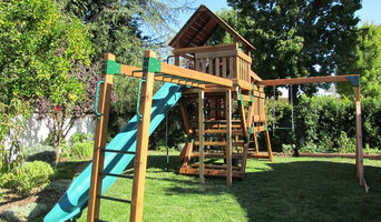 Refurbished Redwood Play Set