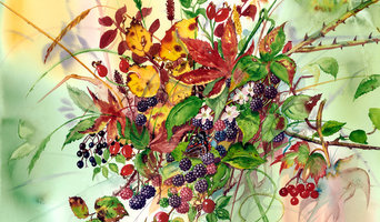 'Autumn Bunch' Limited Edition Fine Art Giclee Print