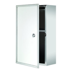 Kent Led Mirrored Bathroom Medicine Cabinet Contemporary