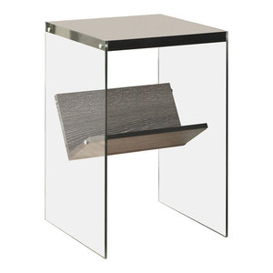 End Table in Weathered Gray