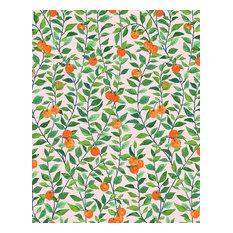 Orange Crush Removable Wallpaper, Pink, Removable Panel
