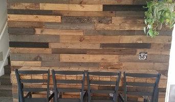 Pallet Wood Accent Walls