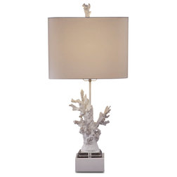 Lovely Beach Style Table Lamps by BASSETT MIRROR CO