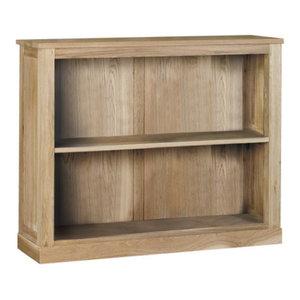 2 Shelf Mobel Oak Bookcase
