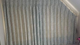 Unusual Shape window dressings