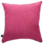 Yorkshire Fabric Shop - Lauren Scatter Cushion, Pink, 45x45 Cm - This piece comes in an attractive solid colouring and a chenille cover that is soft to the touch. The 45-by-45-centimetre pink Lauren Scatter Cushion serves as a stylish and comfortable companion piece to any bed or sofa. From deep within the UK, the family-run Yorkshire Fabric Shop produces upholstery fabrics and a wide range of cushions for homes across the world.