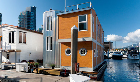 Houzz Tour: Modern Houseboat in Vancouver, B.C.