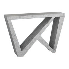 Cement-Look Hall Console