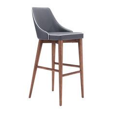 Moor Bar Chair, Dark Gray