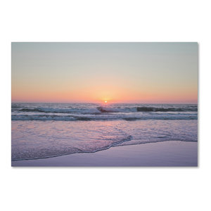 Ariane Moshayedi Beach At Sunset Canvas Art Beach Style Prints And Posters By Trademark Global