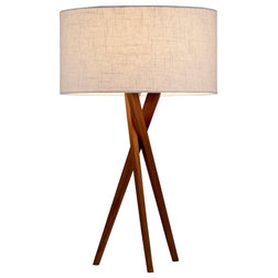 Midcentury Table Lamps by Lighting New York