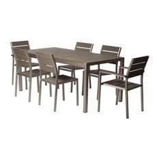 Roy 7-Piece Dining Set Gray