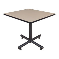 "Kobe 42"" Square Breakroom Table, Beige"