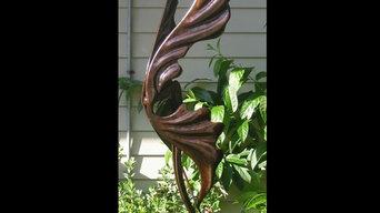 Sculpture and sculptural gates