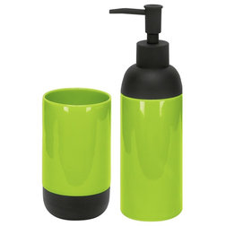 Fabulous Contemporary Soap u Lotion Dispensers Modern Bath Accessories Set of Liquid Soap Dispenser and