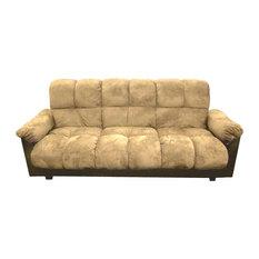 Milton Greens Stars Inc London Storage Futon Sofa Bed With Champion Fabric Beige