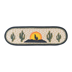 """St-Coyote Silhouette Oval Stair Tread 27""""x8.25"""""""