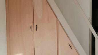 Aménagement intérieur - sous un escalier à Pessac (33)