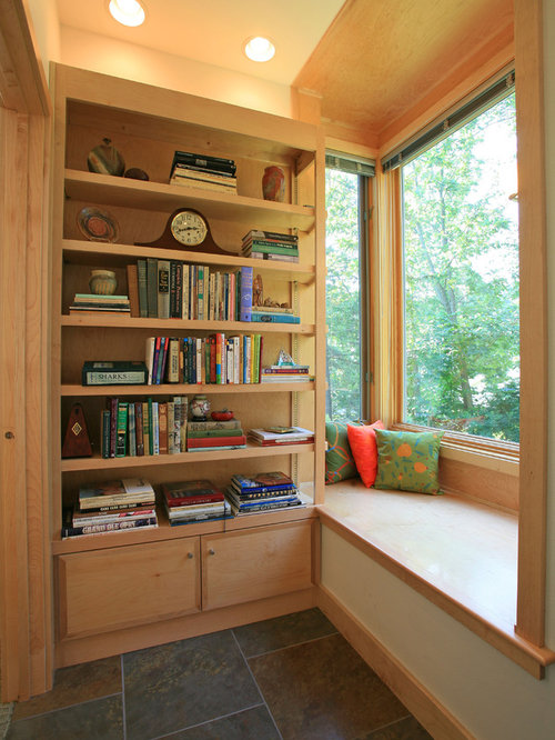 Small reading room houzz for Small house design houzz