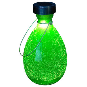 Tear Solar Lantern, Fern Green
