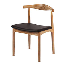 Fine Mod Imports Hansen Dining Chair, Natural