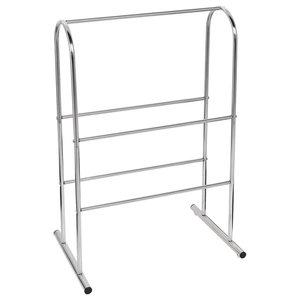 Prim Metal 5-Rung Towel Rail/Drying Rack, Silver