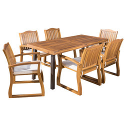 Craftsman Outdoor Dining Sets by GDFStudio
