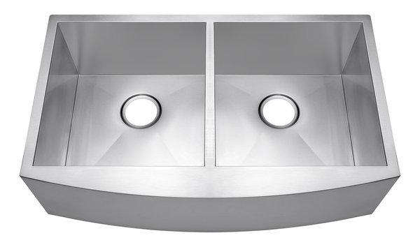 Steel Kitchen Sink Akdy 33 double bowl undermount apron handmade stainless steel akdy 33 double bowl undermount apron handmade stainless steel kitchen sink workwithnaturefo