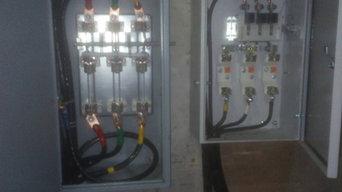 Электромонтажные работы на промышленном обьекте
