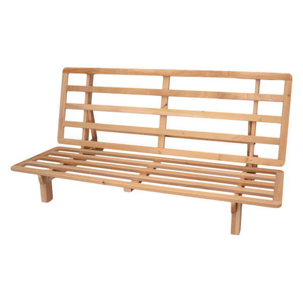 Purchase BiFold Sofa Bed Futon Frame Solid Hardwood Full at best