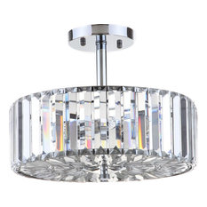 Ariel Chandelier, Chrome