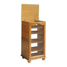 Brittany Oak Hi-Fi Cabinet