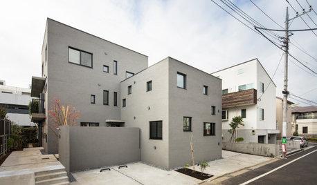 集合住宅の新しい可能性。6戸の個別注文住宅が共存する住まい