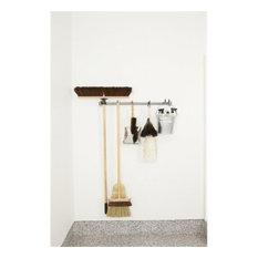 Monkey Bars  Mop & Broom Storage Rack