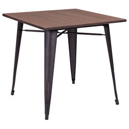 Beautiful Industrial Dining Tables by Zuo Modern Contemporary
