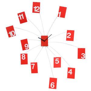IlTempoVola Wall Clock, Red