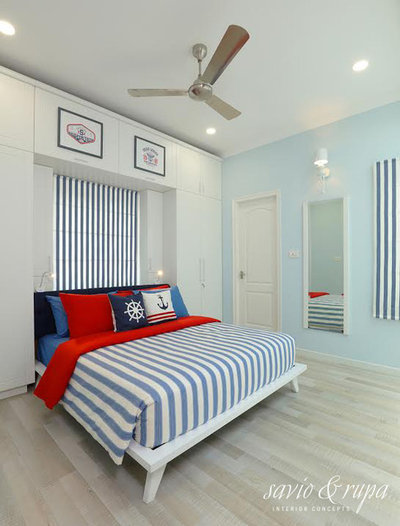 Modern  by Savio & Rupa Interior Concepts (Bangalore)