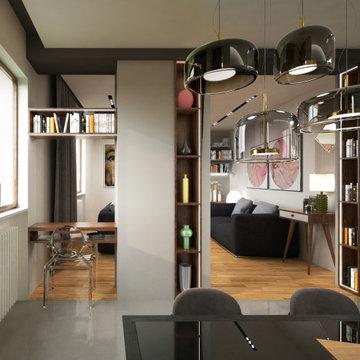 IN.TRO _ Ristrutturazione totale dell'appartamento