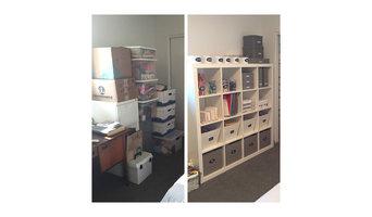 Sala de estudios/oficina en casa