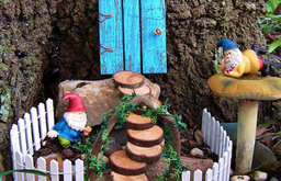 Fairy Garden Set by Hickory Hill Woodworks