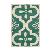 Safavieh Chatham Collection CHT751 Rug, Teal/Ivory, 2'x3'