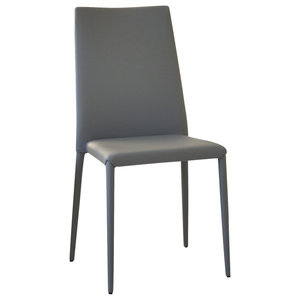 Bea Eco-Friendly Leather Chairs, Set of 2