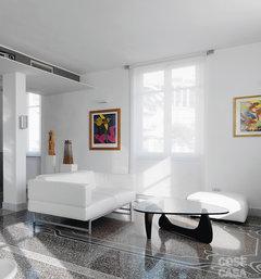 Pavimento in graniglia e arredamento moderno for Pavimenti in graniglia e arredamento moderno