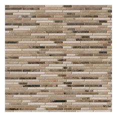 Emperador Blend Bamboo Pattern, Honed, Marble,