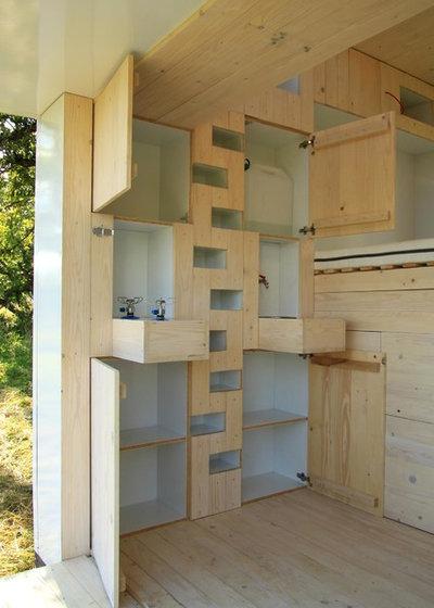 10 quadratmeter wohnen in einer mobilen wohnbox. Black Bedroom Furniture Sets. Home Design Ideas